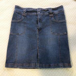 Dresses & Skirts - XL short jean skirt